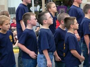 Cub scouts.