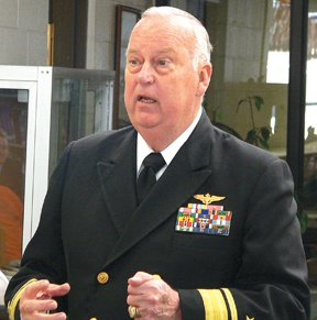Retired Admiral and former Assistant Secretary of Defense Thomas F. Hall.