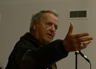 Former FSU football coach Bobby Bowden at the awards banquet.