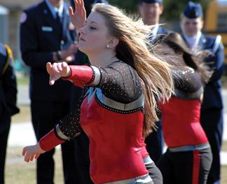 Katelynn Flandreau of the Dancin' Paws.