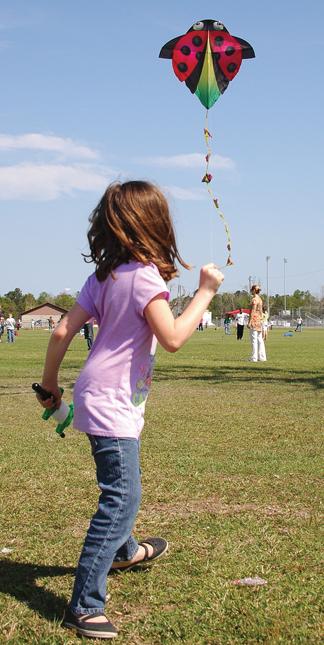 Lillia Munn during kite day.