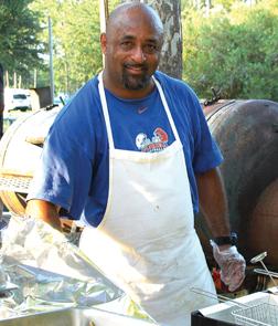 BBQ chef Robert Parker.