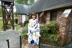 Velma Childers, new owner of the St. James Episcopal Church.