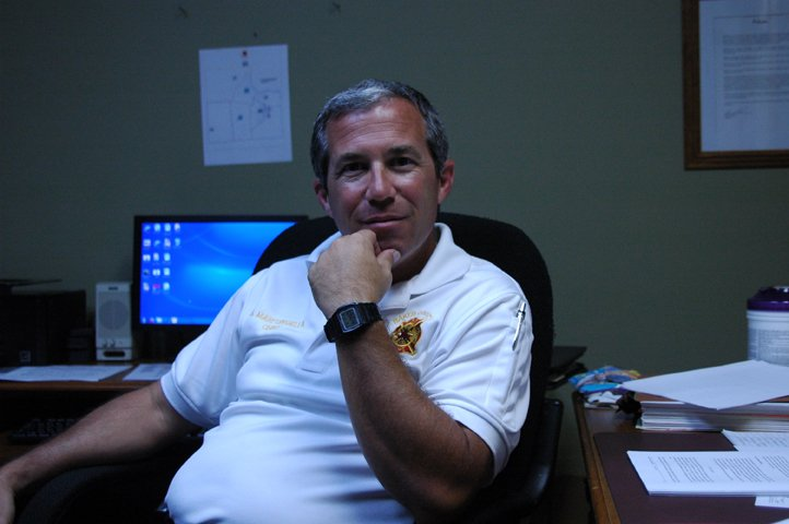 Baker County Fire Chief Steven Marfongella.