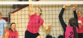 Losses to Keystone, Trinity for volleyball