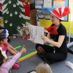 Dr. Suess activities at PreK-Kindergarten Center all this week