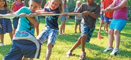 Kids summer series ends with outdoor  games