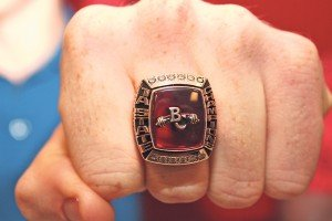 The championship ring.