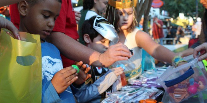 Halloween dry-runs: Ghosts in the Oaks, Trunk or Treat