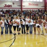 Homecoming court announced at BCHS