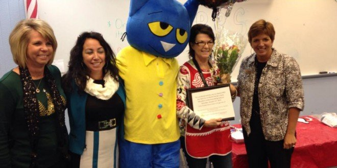 Jana Crews awarded preschool teacher of the year