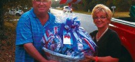 Wins patriotic basket