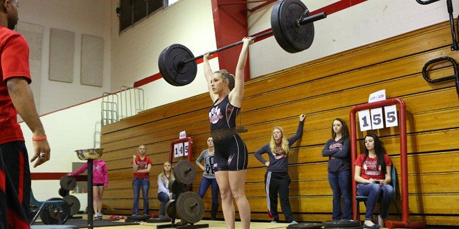 Five Lady Cat lifters qualify for state competition