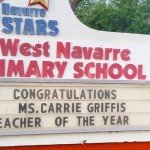 BC native tops at West Navarre Primary School in Panhandle