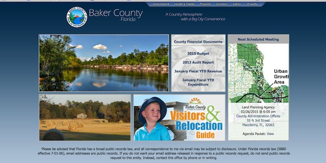 County unveils a (partially) new website