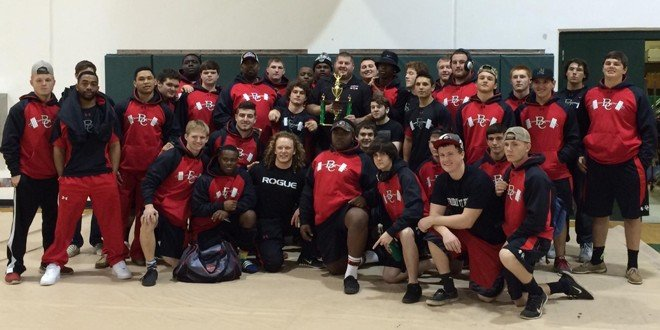 Lifters finish second in invitational