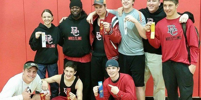 Seven BC wrestlers advance to regionals
