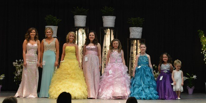 Miss Baker County Pageant winners