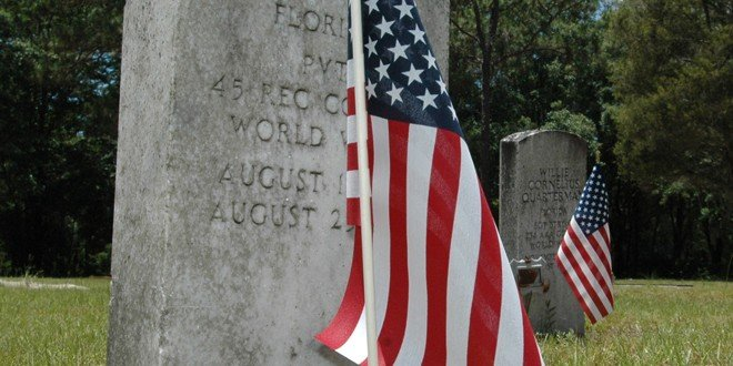Tribute to the fallen: Graves are decorated at Olustee