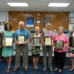 Principal, five teachers, bus driver, food manager retire