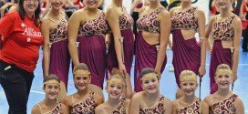 Twirlers fly high at national competition at Notre Dame