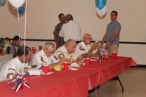 Baker County Veterans Council members.