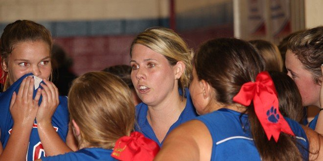 Bobcats volleyball pulls away late