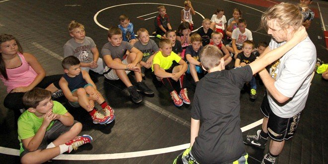 Camp, matches end summer wrestling