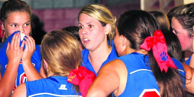 Lady Bobcats volleyball pulls away late
