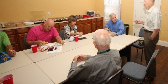 Outgoing Rep. Crenshaw visits Chamber members