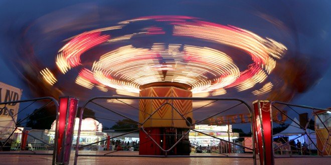 Weather breaks for fair opening