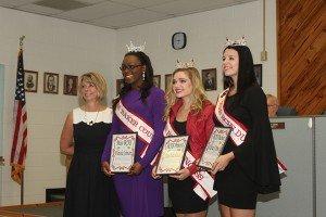 Miss BCHS winners