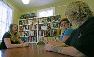 Ms. Tucker interviews other paranormal investigators who have spent time at the jail, Elena Carlucci and Lori Gaunder.
