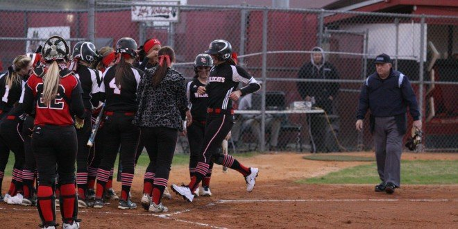Lady Cats crush in home debut